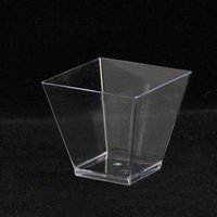 pet plastic fancy mousse glass