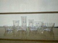 plastic mousse cup