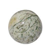 Satyamani Natural Tree Agate Gemstone Sphere