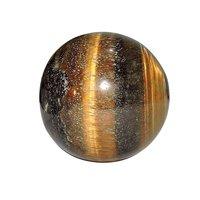 Satyamani Natural Tiger Eye Gemstone Sphere