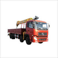 QYS-8IV manufacturer supply 5telescopic boomed 8 tons hydraulic loader crane