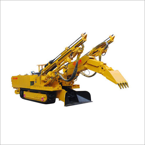 Drilling and Loading Machine