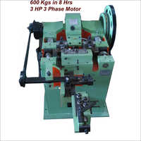 3 HP 3 Phase Motor Nail Making Machine