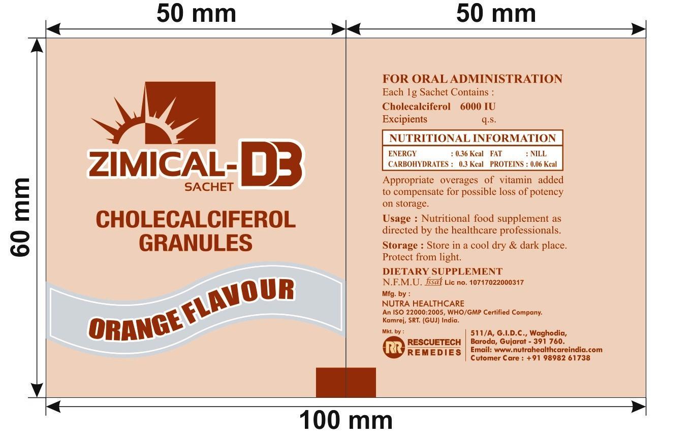 Zimical D3 Cholecalciferol Granules