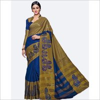 Aura Embroidery Design Saree