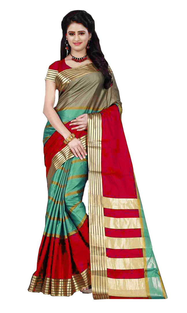 Fancy Topdy Saree