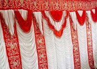 Parda design for wedding