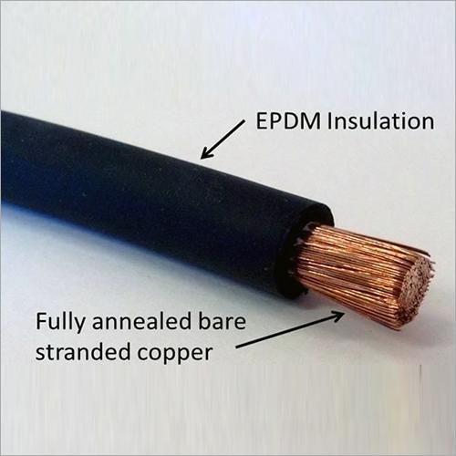 Copper Black Welding Cable