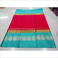 New Ret Cotton silk saree