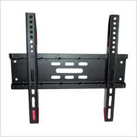LCD Black Coated Wall Mounted TV Stand