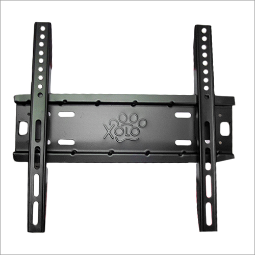 LED Black Coated Wall Mounted TV Stand