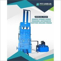 Packing Automatic Cotton Baling Press