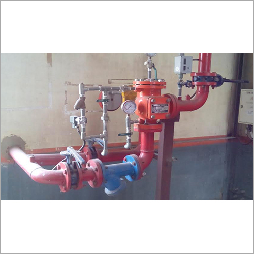 High Medium Velocity Water Spray System