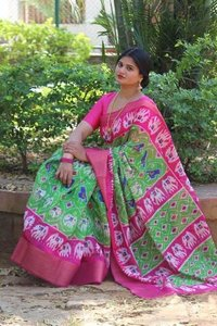 Soft Cotton Batik Print Sarees