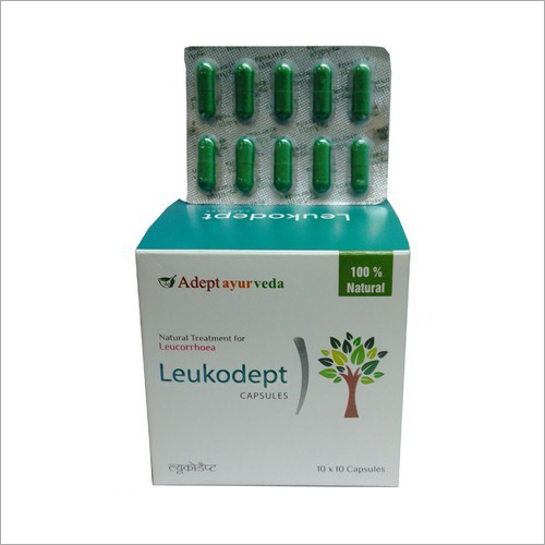 Ayurvedic Leucorrhea Relief Capsules
