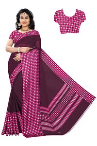 Sartin Patta Cotton saree