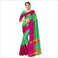 Super Igna Jhalar Cotton Silk Saree