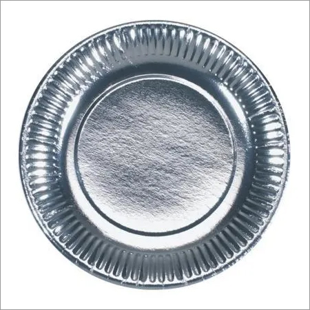 6 Inch Silver Paper Plate