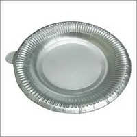 9 Inch Silver Paper Plate