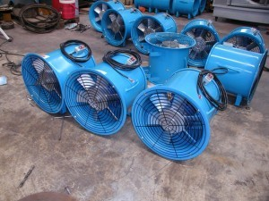Direct Axial Flow Fan