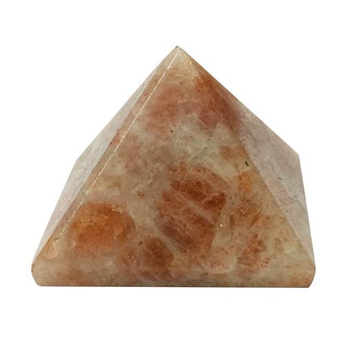 Satyamani Natural Sunstone Pyramid