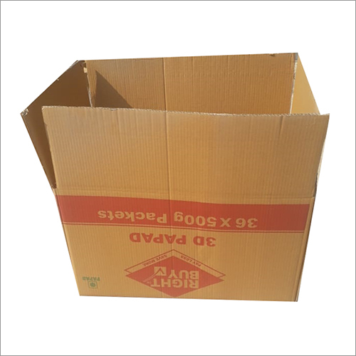 Corrugated Square Box