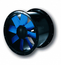 Ventilation Axial Fan Duct Mounted
