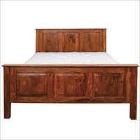 Wooden Plain Bed