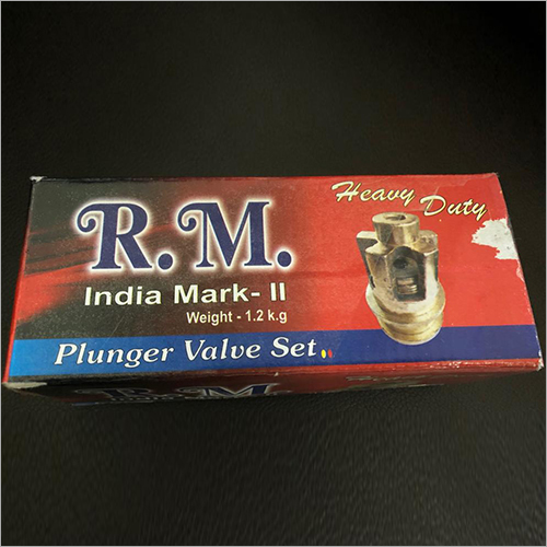 Plunger Valve Set Corrugated Box
