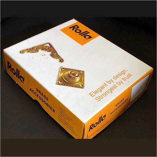 Brass Accessories Corrugated Box