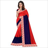 Suchitra Printed Heavy saree