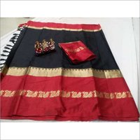 New Damini Poly Silk Jacquard Saree