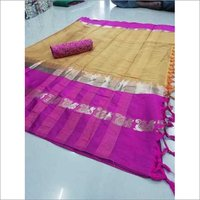 New Damini Plus Jacquard Silk Saree