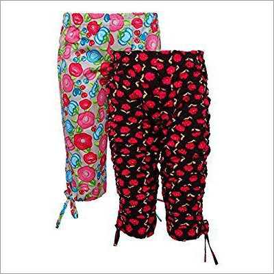 Ladies Ribbon Capri