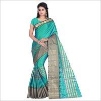 New Printed Cotton Silk Parnita Saree
