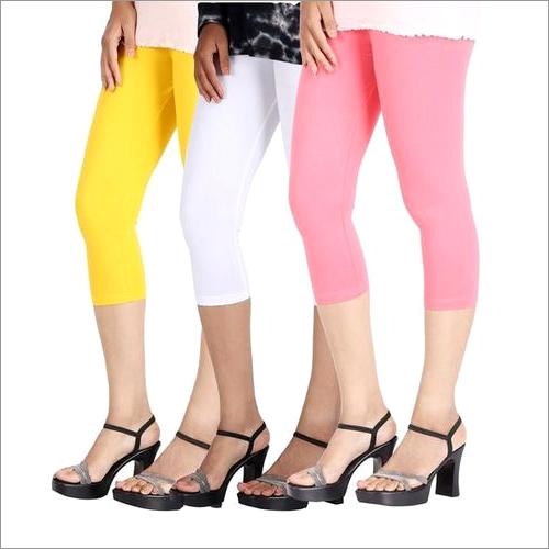 Ladies Three Quater Leggings