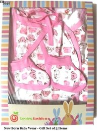 New Born Baby Dress-Pink