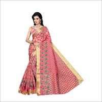 New Jacquard Cotton saree