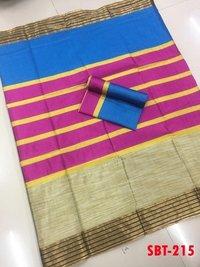 Soft cotton silk sarees