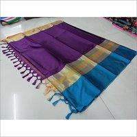 Titenic Soft Cotton Silk Saree