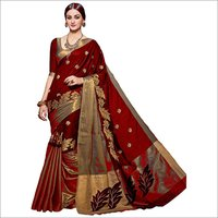 Visava Work saree