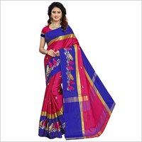 New Embroidery Design Cotton Silk Saree