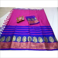 Tulsi Soft Poly Silk Jacquard Saree