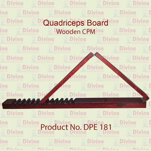 Quadriceps Boards / Wooden CPM