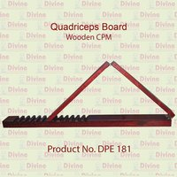 Quadriceps Board Wooden Pediatric