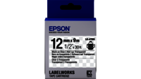 Epson LW Tape- LK-4TBN- 12mm