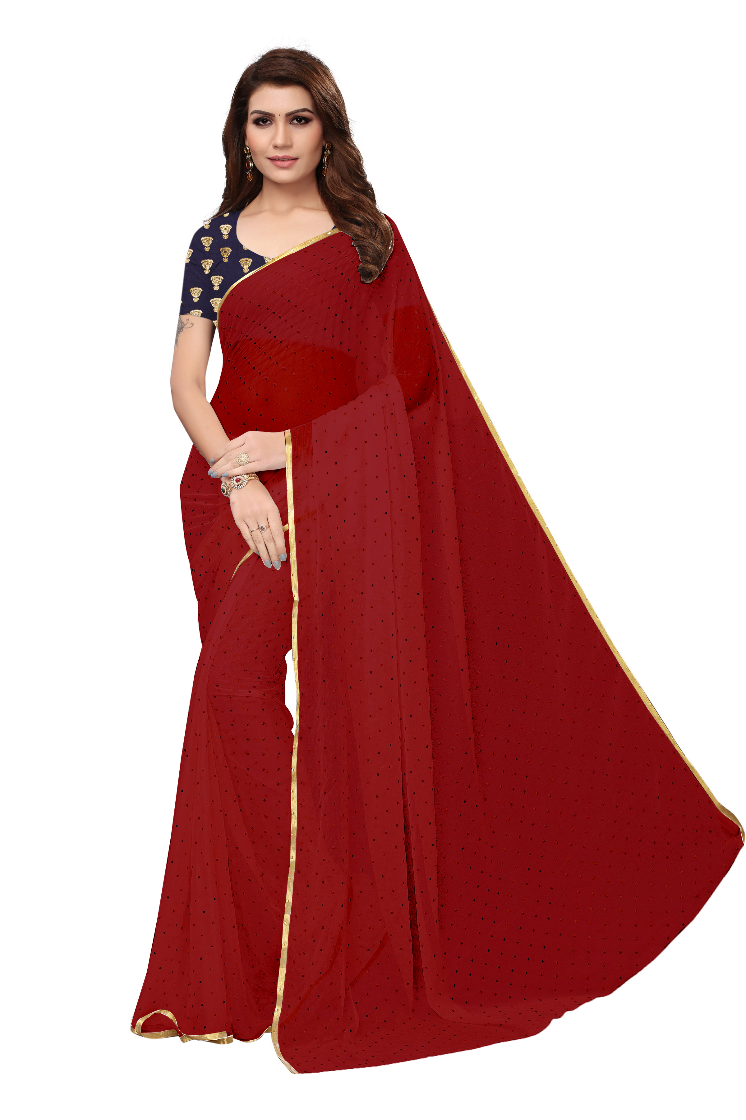 New Chiffon saree
