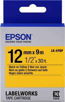 Epson LW Tape- LK-4YBP- 12mm