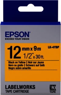 Epson LW Tape- LK-4YBP- 12mm