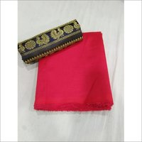 Plain Sana Silk Saree
